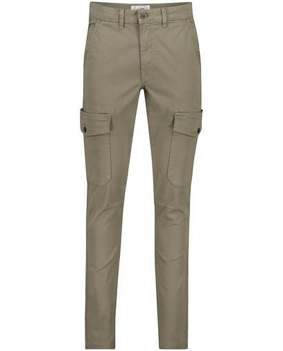 Pantalon cargo slim fit vert Vic