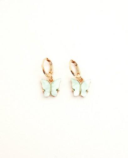 Boucles d'oreilles en forme de papillon Elisa Bruart