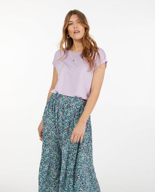 T-shirt in lila Sora - stretch - Sora