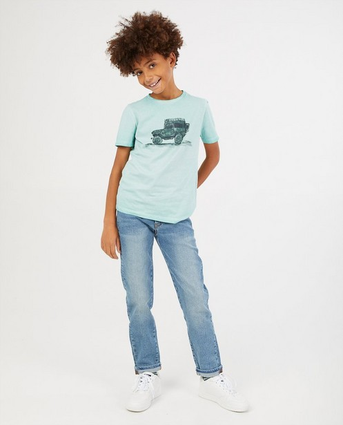 Jeans à coupe ample Felix, 7-14 ans - bleu - Fish & Chips