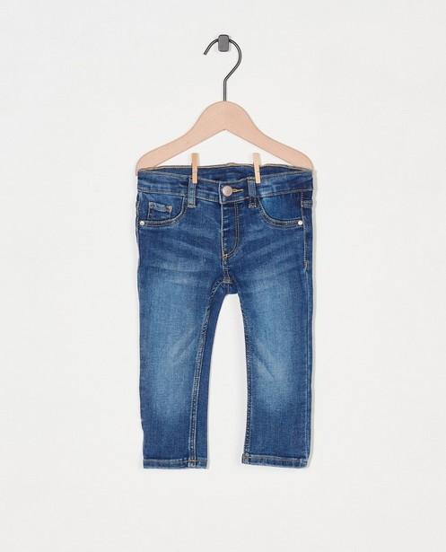 Jeans bleu - effet délavé - Cuddles and Smiles