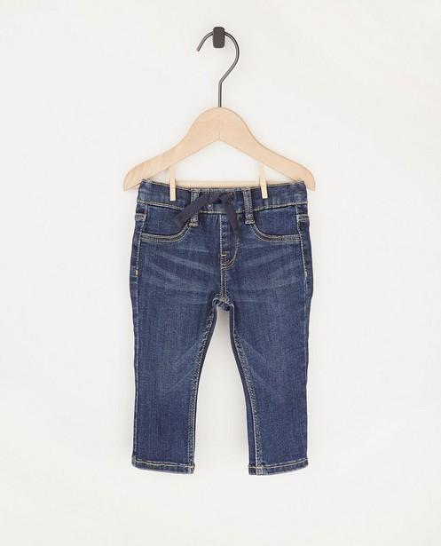 Jeans bleu foncé BESTies - avec ceinture à nouer - Besties