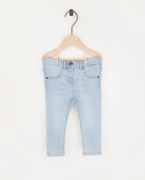 Lichtblauwe jeansbroek - stretch - Cuddles and Smiles