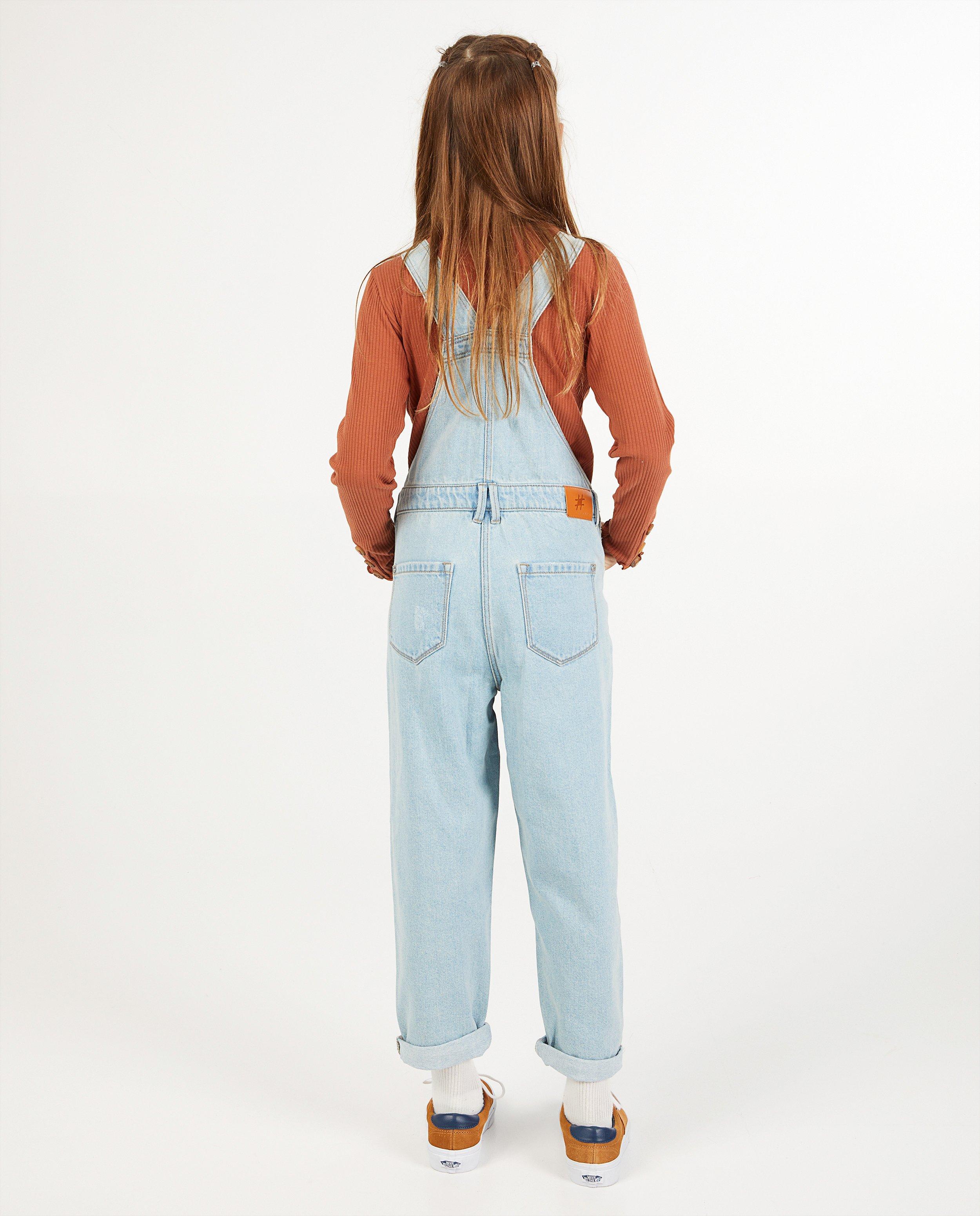 Jumpsuits - Lichtblauwe salopette van denim #LikeMe