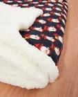 Fleece-deken met kerstprint - allover - Familystories