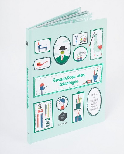 Plak- en tekenboek - Mama Baas