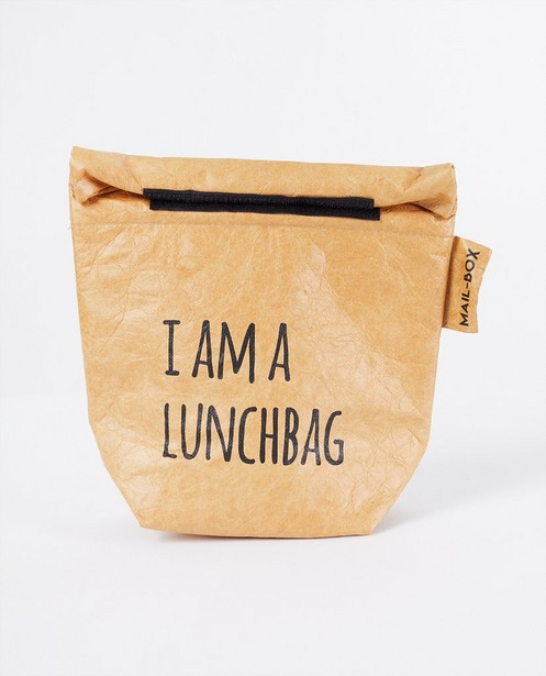 Sac à lunch MailBox - brun - JBC