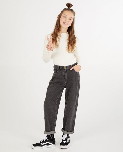 Graue Jeans - slouchy - Fish & Chips