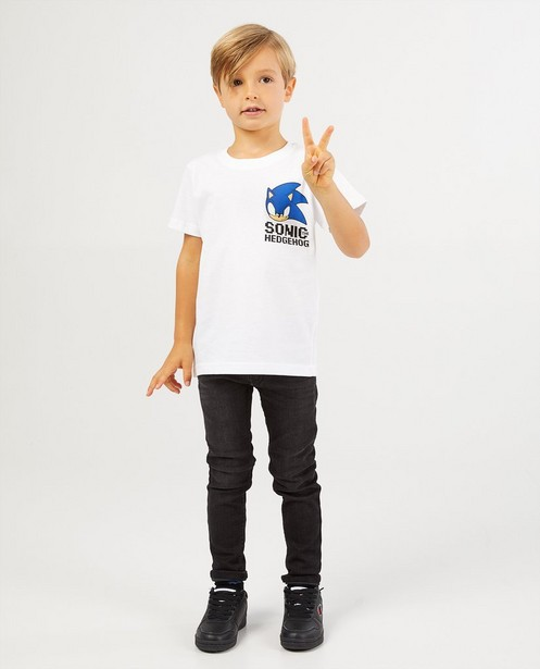 Wit T-shirt van Sonic The Hedgehog - sonic the hedgehog - JBC