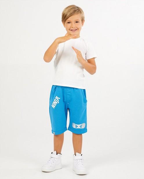 Pantalon molletonné bleu de Ninja Lego - avec imprimé - JBC