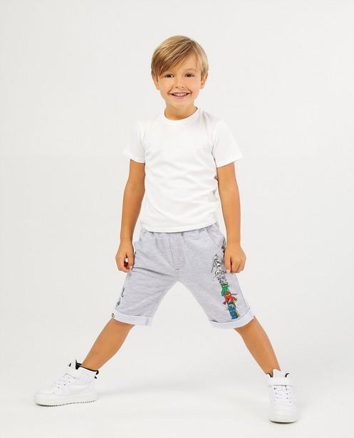 Pantalon molletonné gris de Ninja Lego - avec imprimé - JBC