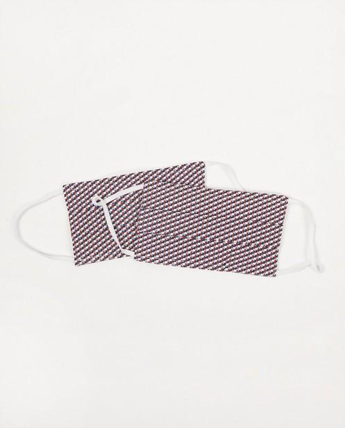2 masques à imprimé rétro - lot de 2 - Fish & Chips