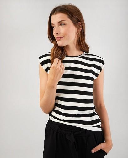Gestreept T-shirt Ella Italia