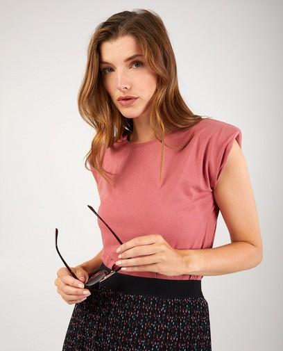 Roze T-shirt Ella Italia