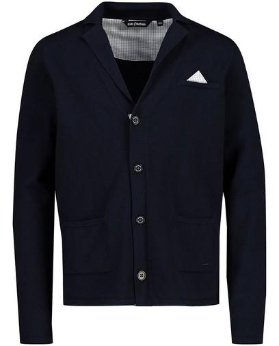 Blauw vest met pochet Communie
