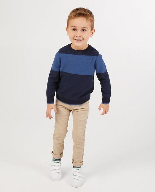 Pull en tricot à rayures BESTies - imprimé intégral - Besties