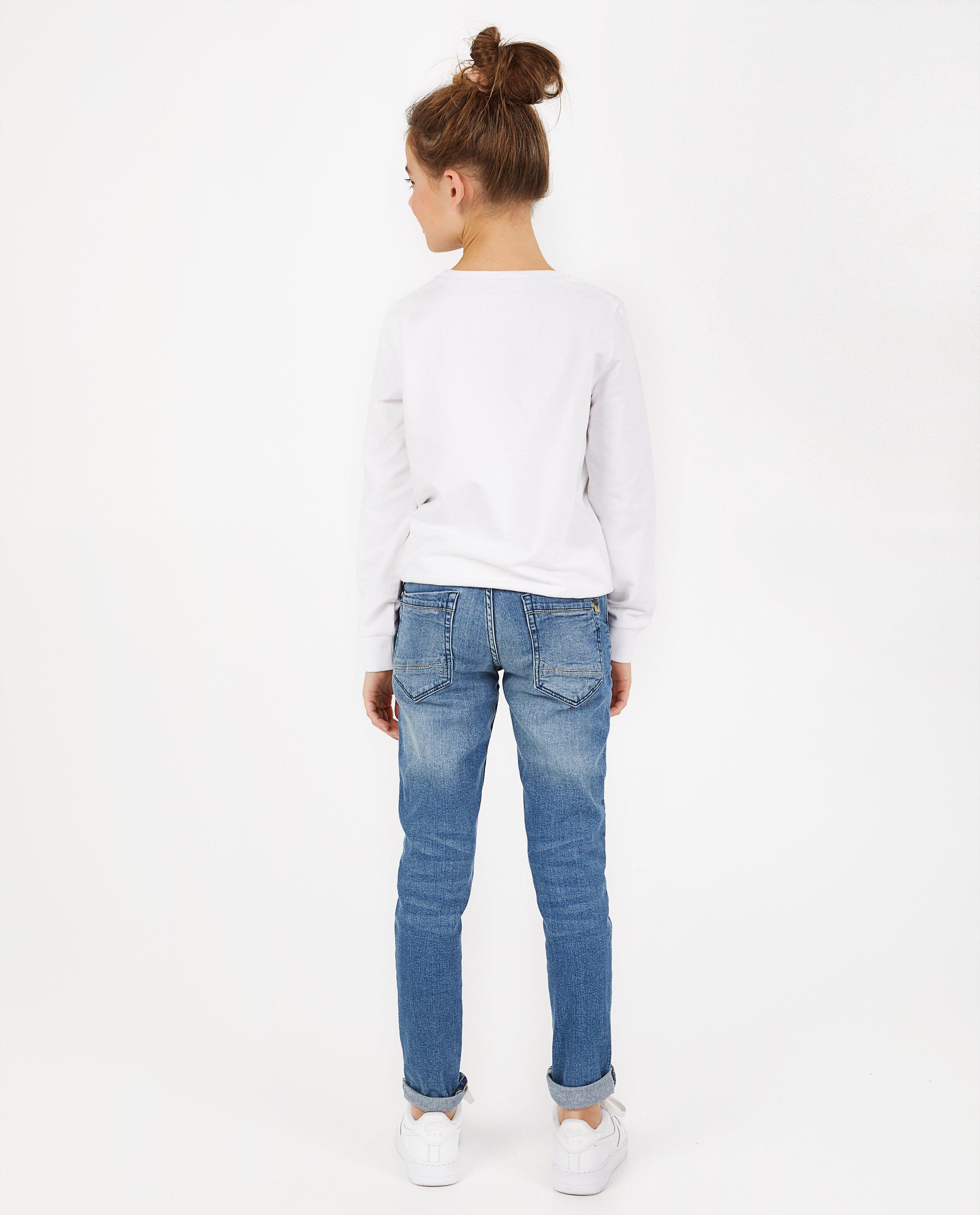 Sweaters - Witte sweater met print #LikeMe