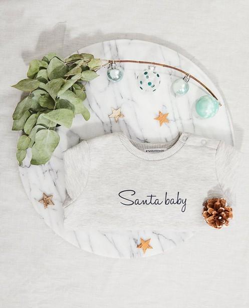 Sweat de Noël pour bébé, Studio Unique - personnalisable - JBC