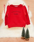 Baby kerstsweater, Studio Unique - personaliseerbaar - JBC