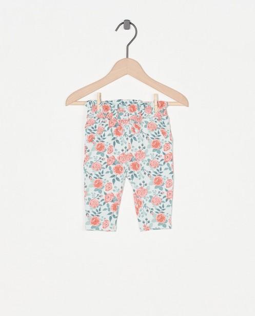 Pantalon à imprimé fleuri - et petit nœud - Newborn