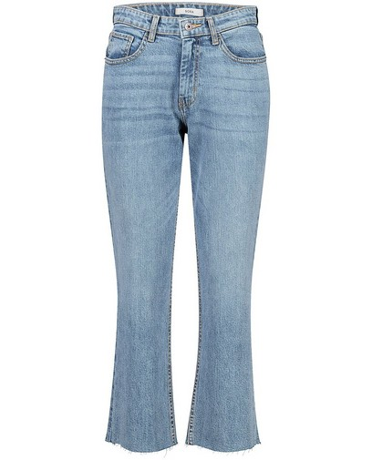 Blauwe flared jeans Claire Sora