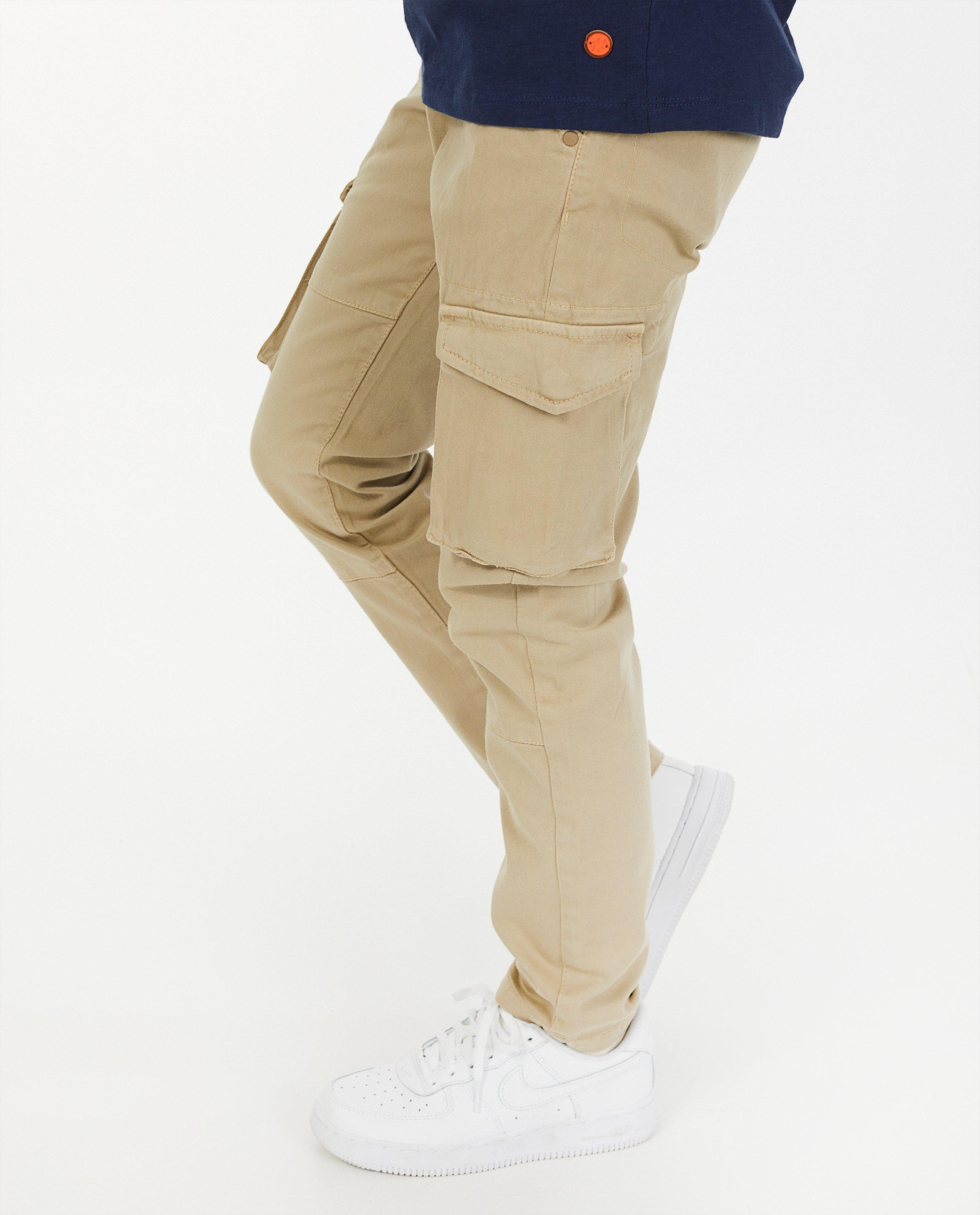Pantalon cargo beige #LikeMe