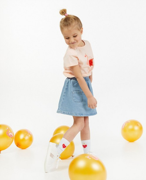 T-shirt d'anniversaire rose AVA x JBC - JBC x AVA - Milla Star