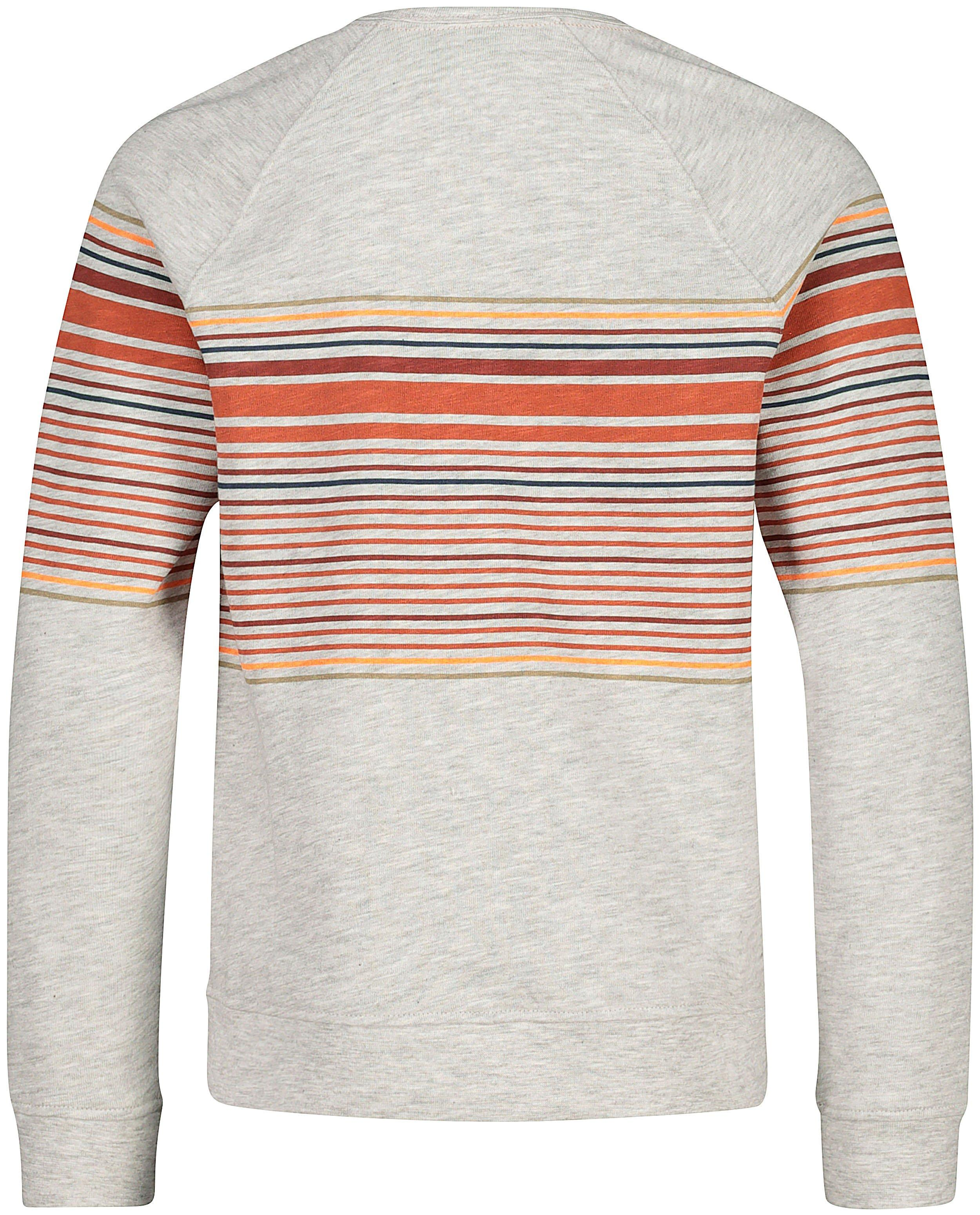 Sweaters - Lichtgrijze sweater met strepen #LikeMe