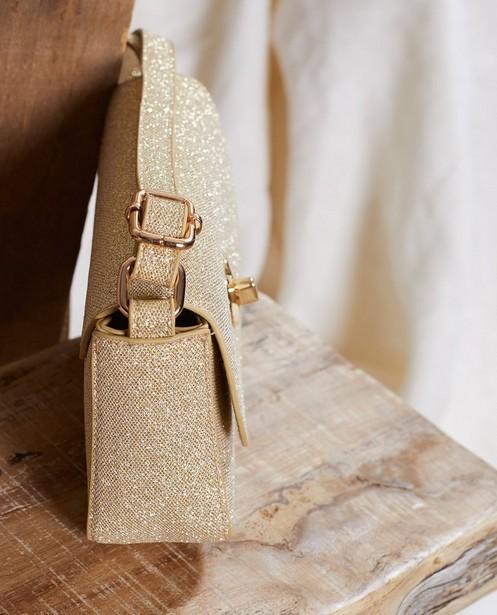Handtassen - Goudkleurig glittertasje Communie