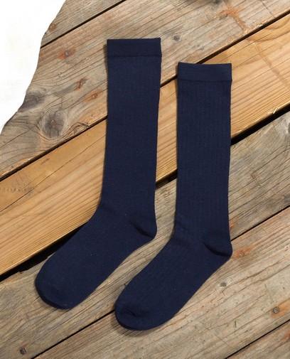 Chaussettes hautes bleues Communion
