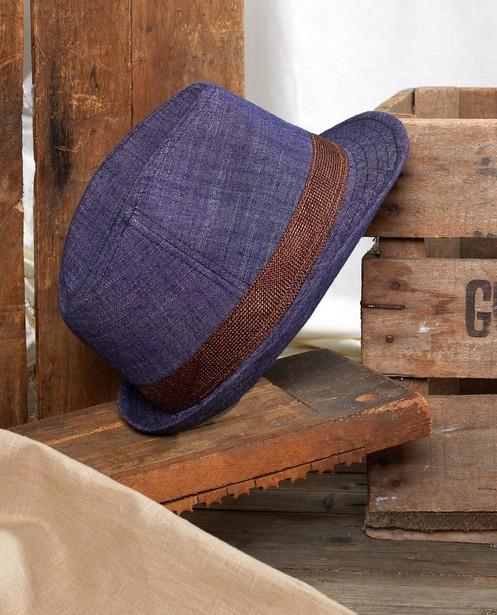 Blauwe hoed Communie - denim - JBC
