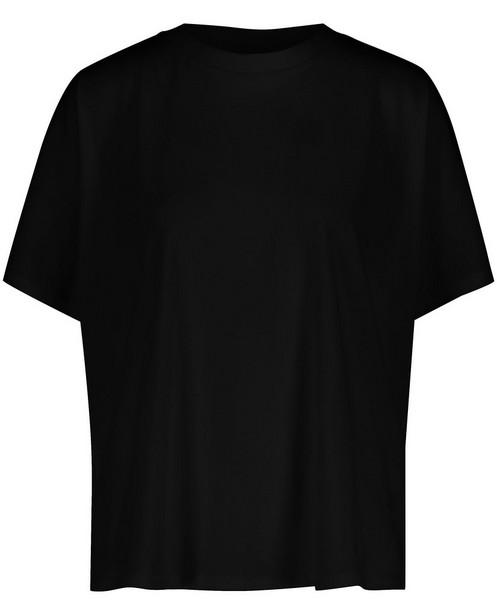 Zwart T-shirt van biokatoen Sora - stretch - Sora