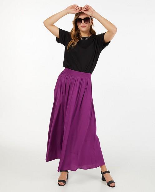 T-shirt noir en coton bio Sora - stretch - Sora