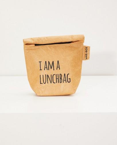 Braune Lunchtasche MAIL-BOX