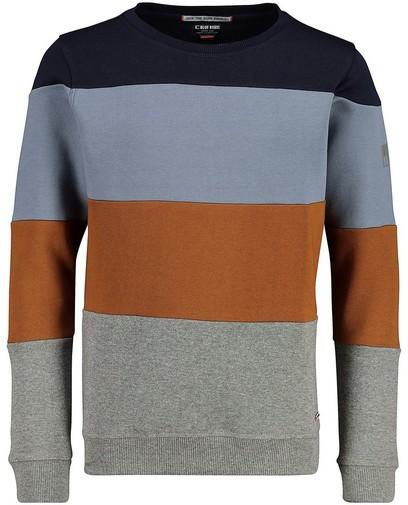 Sweater mit Streifen Blue Rebel