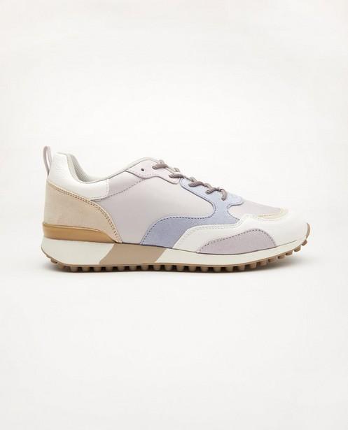 Pastelkleurige sneakers, maat 36-41 - lila en blauw - Sprox