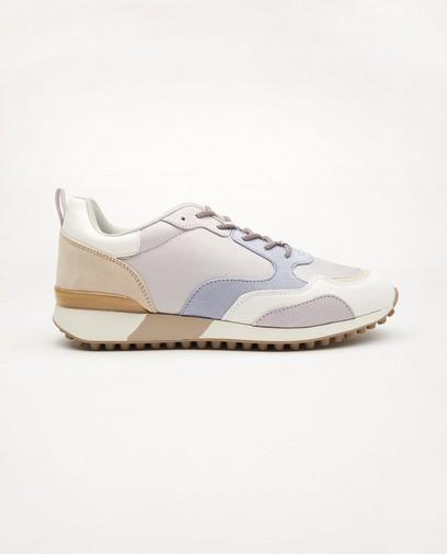 Pastelkleurige sneakers, maat 36-41
