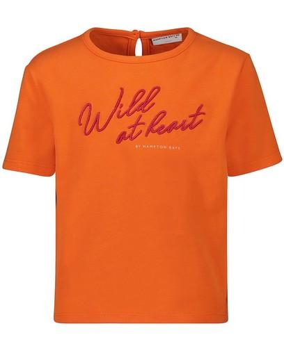 T-shirt orange Hampton Bays
