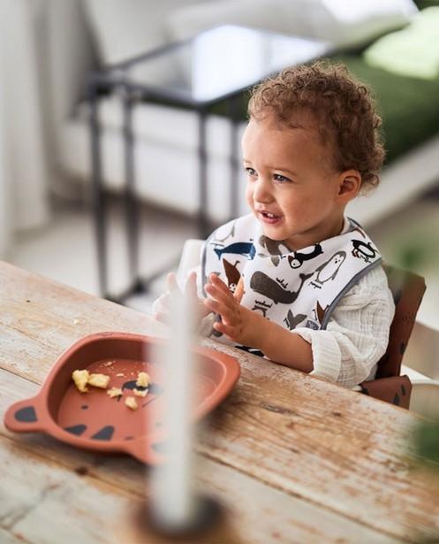 Babysachen - 3 wasserdichte Lätzchen Jollein