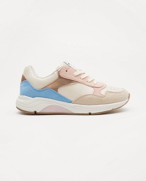 Sneakers, maat 33-38 - met pastelkleuren - Sprox