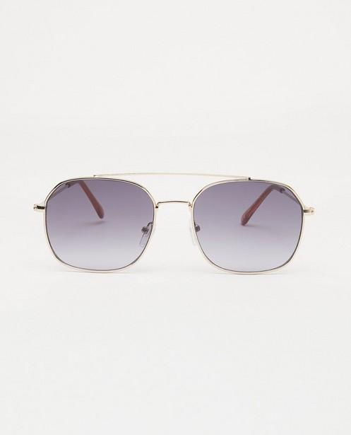 Vierkanten zonnebril - met metalen montuur - JBC