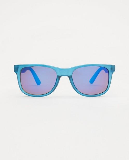 Blauwe zonnebril - met kunststof montuur - JBC