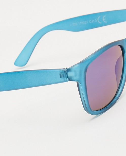 Zonnebrillen - Blauwe zonnebril
