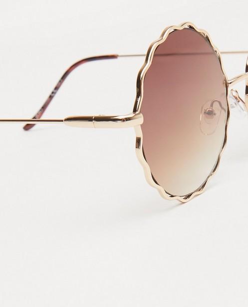 Zonnebrillen - Gegolfde zonnebril