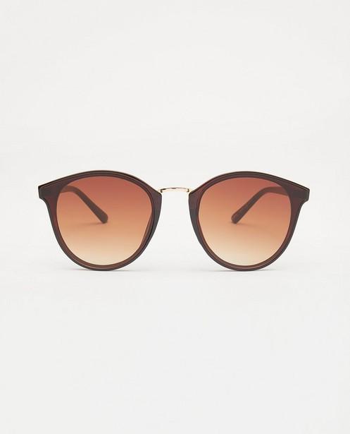 Zwarte zonnebril - met glitter - JBC