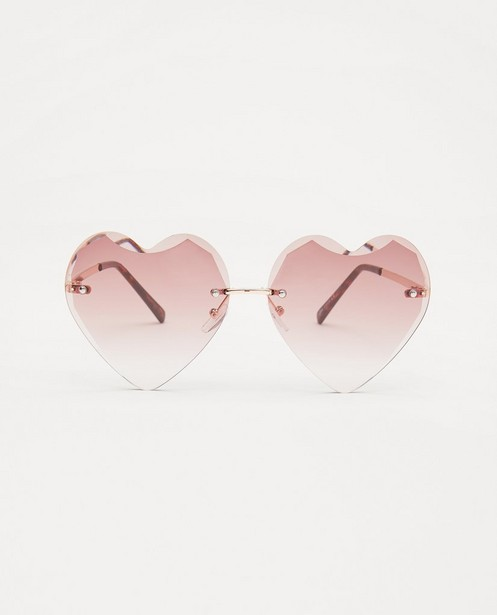 Hartvormige zonnebril - met metalen montuur - JBC