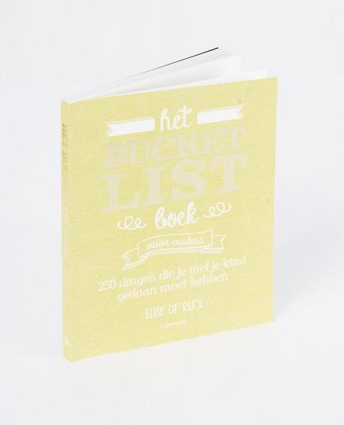 Le livre «Bucketlist» d'Elise De Rijck - pour les grands-parents - JBC