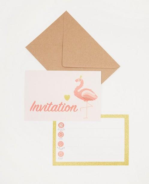 Lot de 6 invitations d'anniversaire AVA x JBC - JBC x AVA - ava