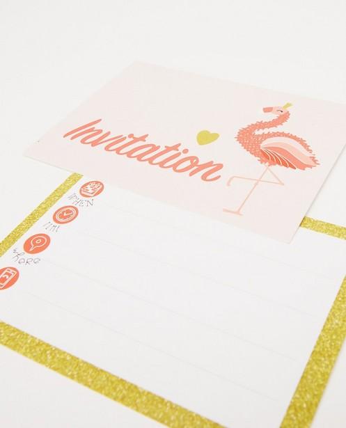 Gadgets - Lot de 6 invitations d'anniversaire AVA x JBC