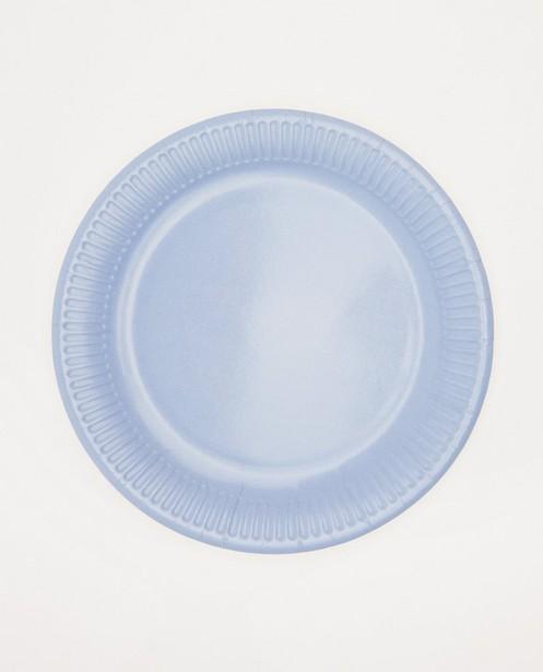 Lot de 8 assiettes en carton AVA x JBC - diamètre: 23cm - ava